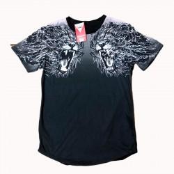 camiseta leones y bordado de moda