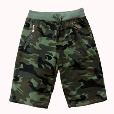 Pantalón corto deportivo Militar