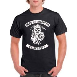 """Camiseta SONS OF ANARCHY """"Hijos de la Anarquia"""""""
