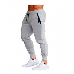 jogger liso bolsillos laterales con cremallera